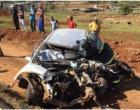 Motorista morre em colisão frontal na BR-282