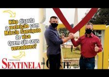 Entrevista com Cleomar Mantelli que disputa a reeleição com Márcio Sansigolo de vice.