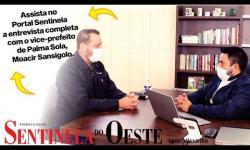 Prévia da entrevista com o vice-prefeito Moacir Sansigolo