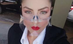 Máscaras transparentes viram tendência