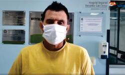 Paciente notificado com coronavírus em Palma Sola recebe alta do Hospítal Regional Terezinha Gaio Basso