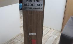 Palmassolense cria borrifador elétrico para álcool em gel