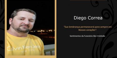 Homenagem póstuma a Diego Correa