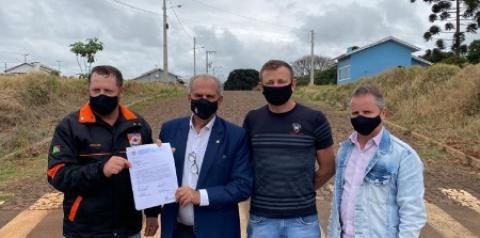 Município recebe mais R$ 150 mil para pavimentação asfáltica