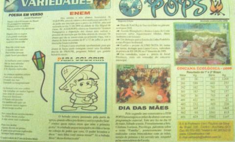 Colégio Pops já teve dois jornais