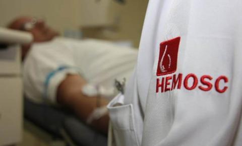 Hemosc necessita de doações de sangue para regularizar estoques