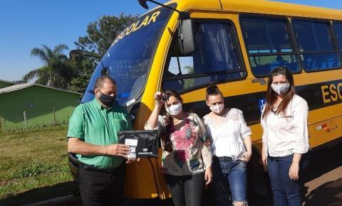 Campo Erê recebe um micro-ônibus