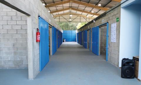 Pavilhão para materiais recicláveis é inaugurado