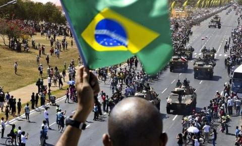 Tradicional desfile de 7 de setembro é cancelado por conta da pandemia