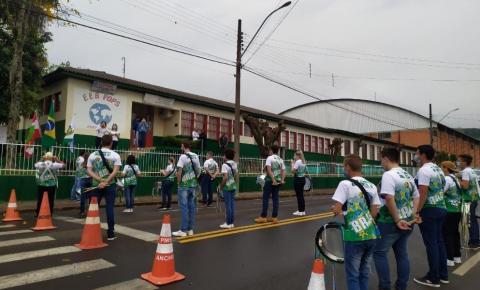 Demonstração do Pops mobiliza Anchieta