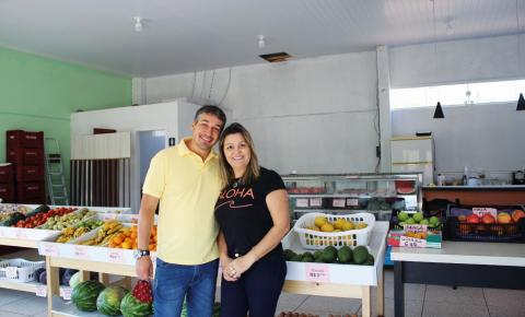 Casal sulflorense investe em hortifrúti