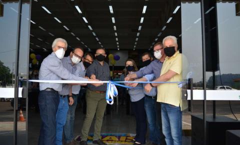 Cooperalfa inaugura supermercado e agropecuária em Campo Erê