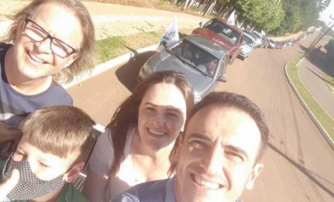 Claudinho é reeleito em Guarujá do Sul