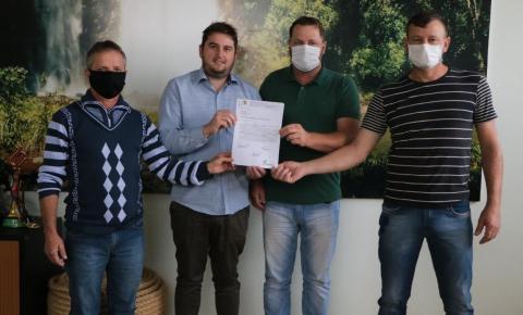 Prefeitura de Palma Sola solicita emenda para uma quadra sintética