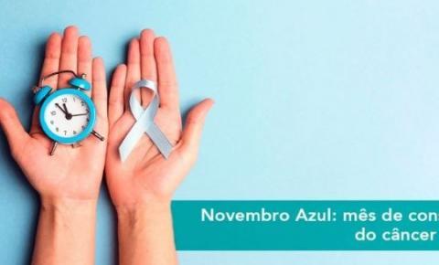 Novembro Azul: mês do câncer de próstata