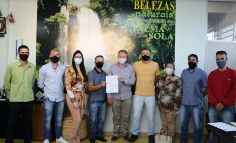 Celso Maldaner entregou R$ 250 mil para a saúde de Palma Sola