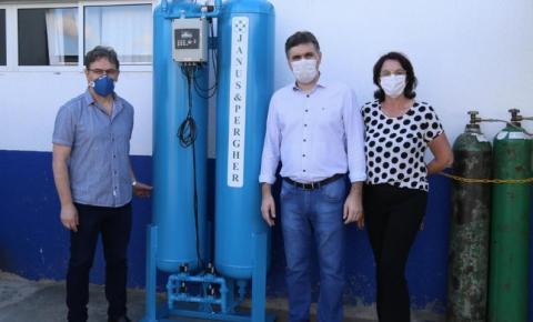 Instalada usina de oxigênio em Beltrão