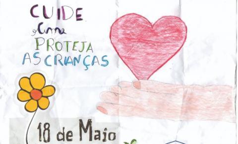 CRAS realiza campanha contra o abuso de crianças e adolescentes