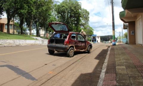 Outro acidente é registrado próximo à praça municipal