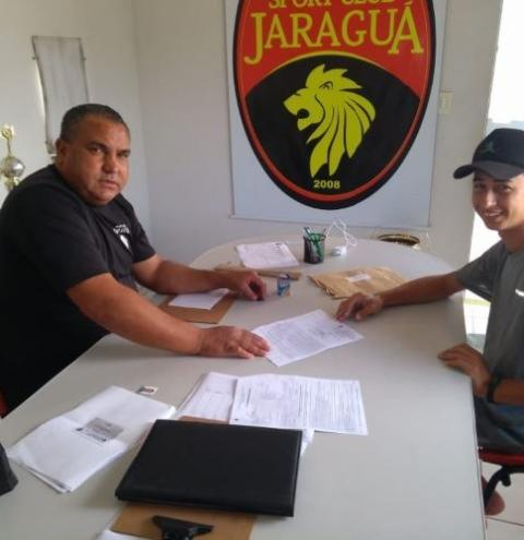 Anchietense supervisiona o Sport Clube Jaraguá