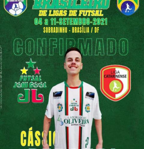 Sulflorence joga no Brasileirão de Ligas de Futsal